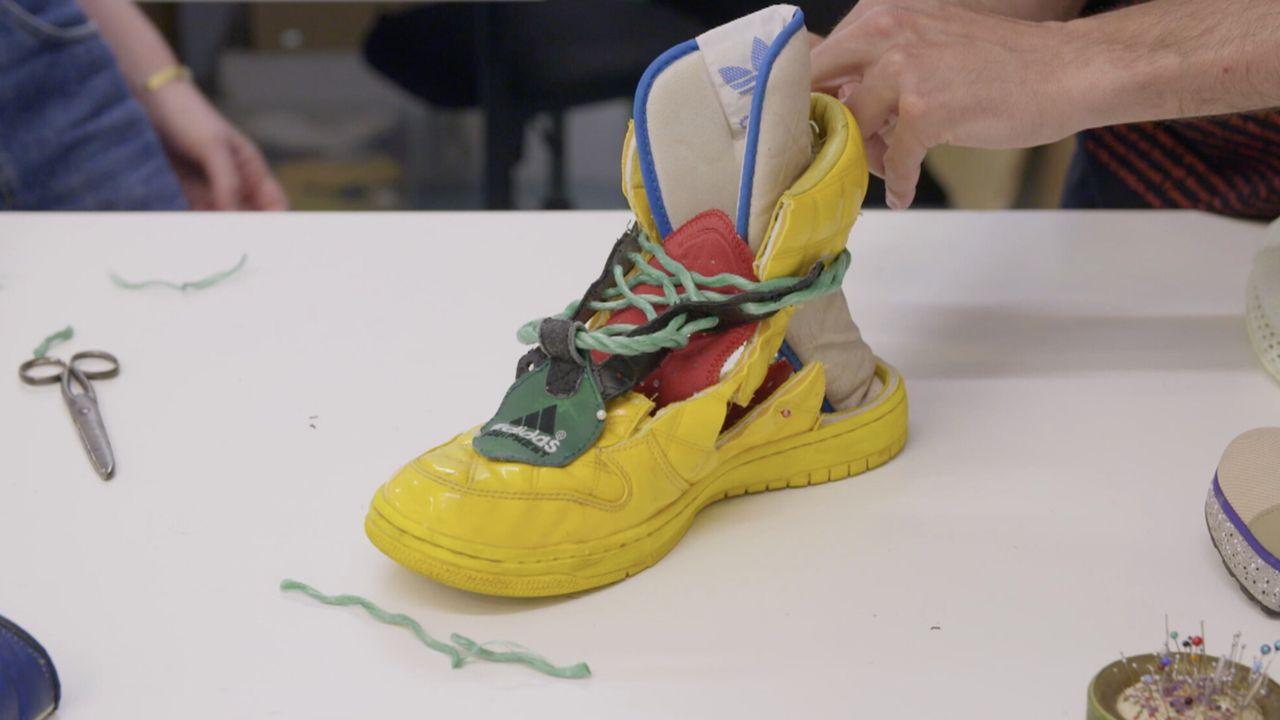 Voor de vorm Sneaker