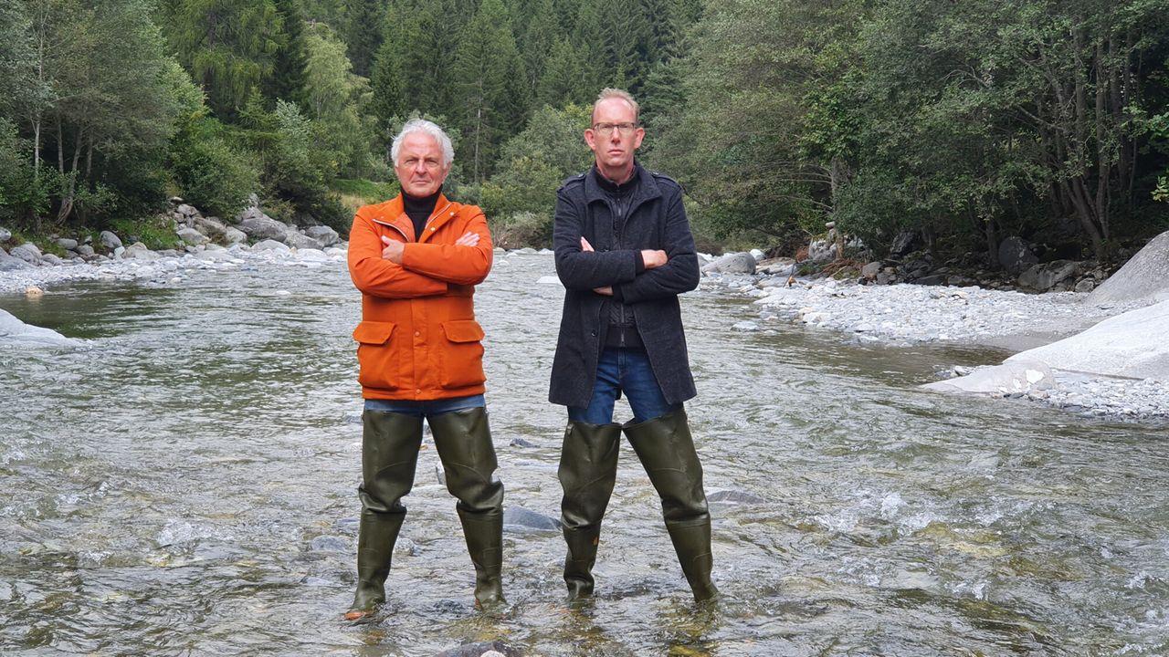 Langs De Rijn - De Geboorte Van Een Rivier