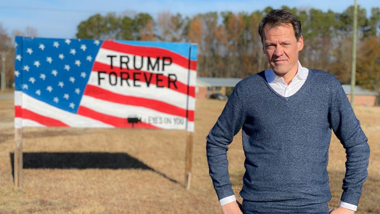 God, Jesus, Trump ! Het beloofde land