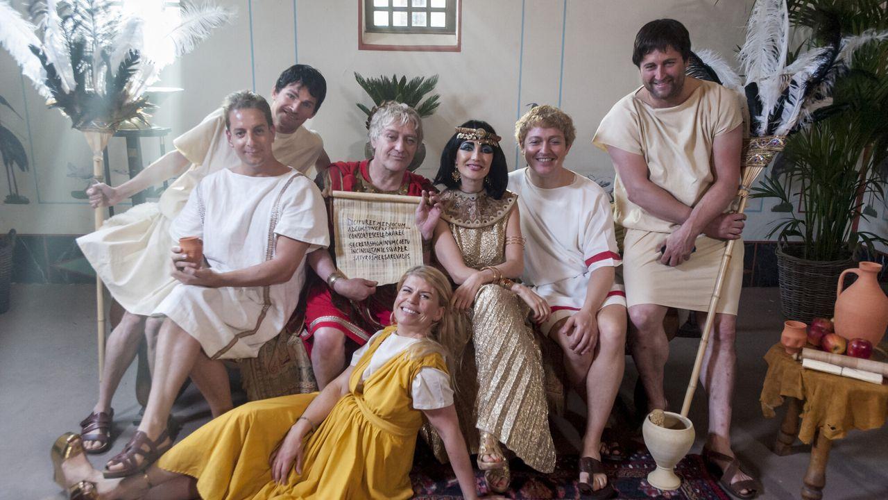 Welkom bij de Romeinen Caesar en Cleopatra