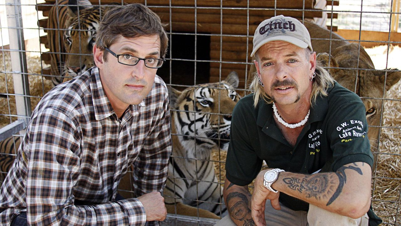 Louis Theroux - Beware Of The Tiger