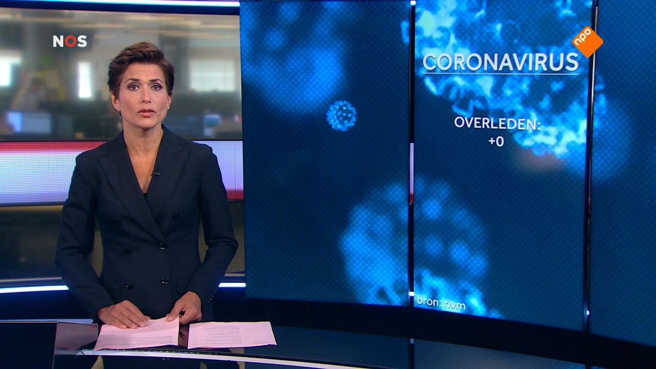 NOS Journaal 13.00 uur (Nederland 2) Seizoen 166 Afl. 281 - NOS Journaal