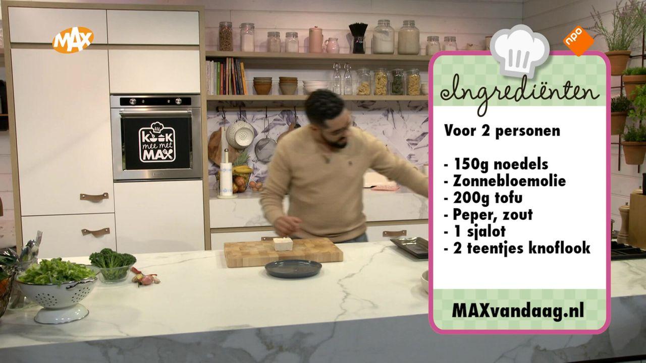 Kook mee met MAX Seizoen 2020 Afl. 103 - Aziatische andijvie