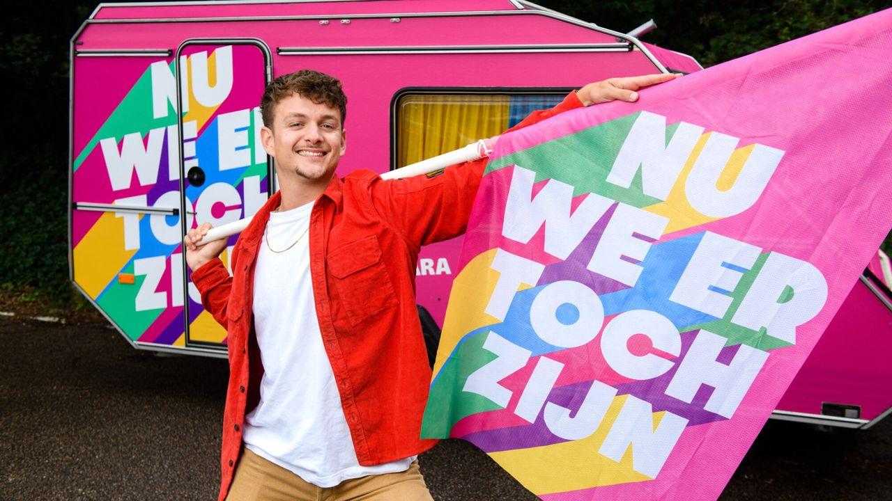 Nu we er toch zijn - Pride Morgen 19:25 - Seizoen 1 Afl. 1 - Jurre Geluk in Enschede