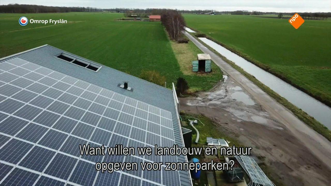 Fryslân Dok - Licht En Schaduw Over Het Zonnepark