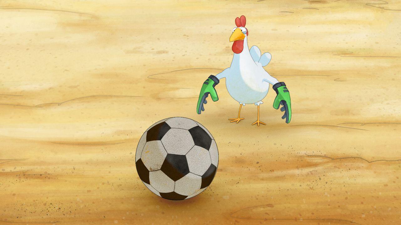 Liselotte Liselotte scoort een goal