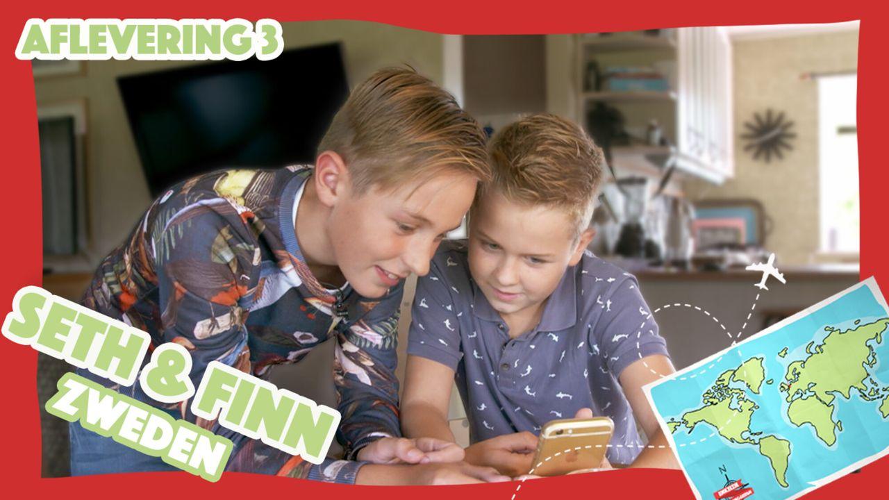 Enkeltje Verweggistan Seth en Finn