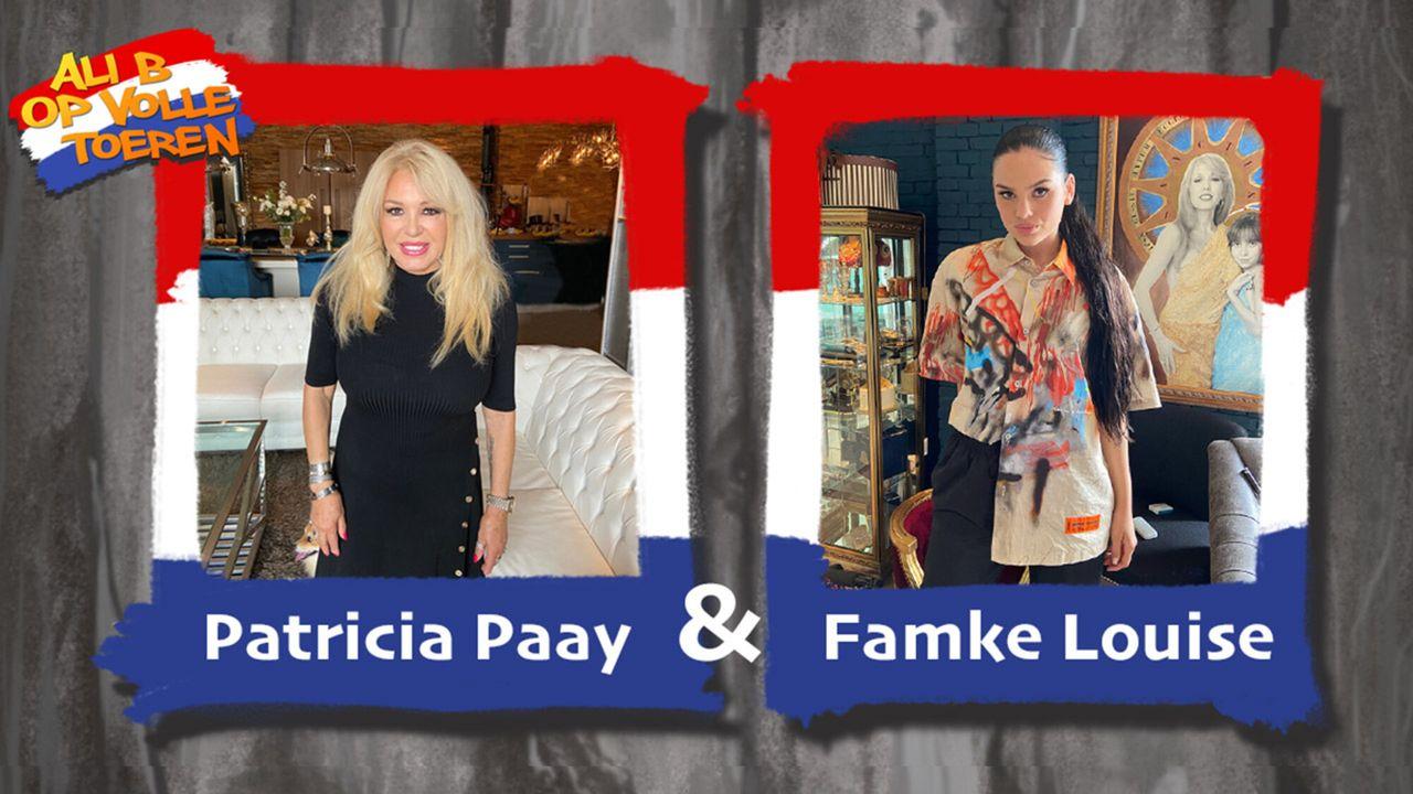 Ali B op Volle Toeren Patricia Paay & Famke Louise