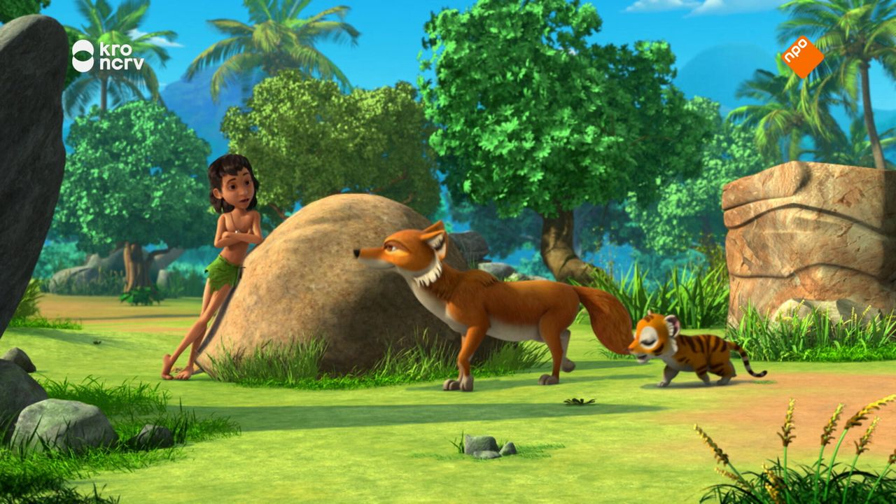 Jungle Book Mowgli de waarzegger