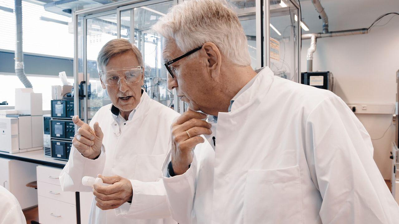 Andries en de wetenschappers Prof. dr. ir. Krijn de Jong
