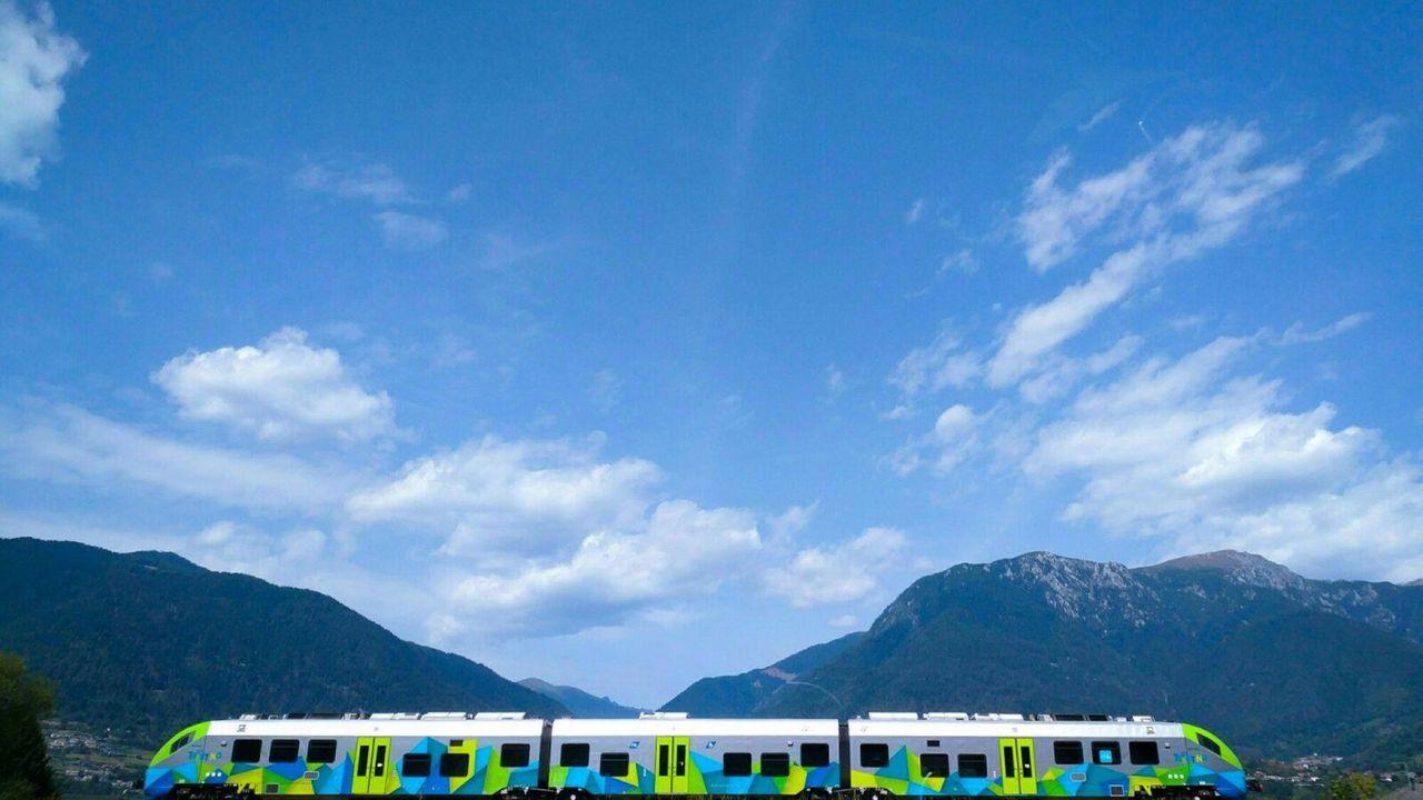 Rail Away - Italië: Rovereto-trento-borgo Valsugano