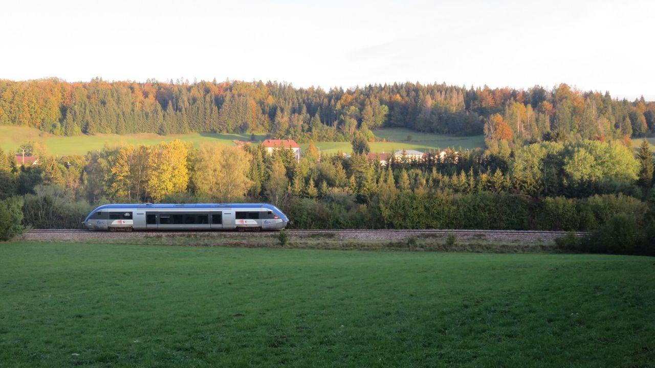 Rail Away - Frankrijk: Ligne Des Hirondelles: Dole-andelot-saint-claude