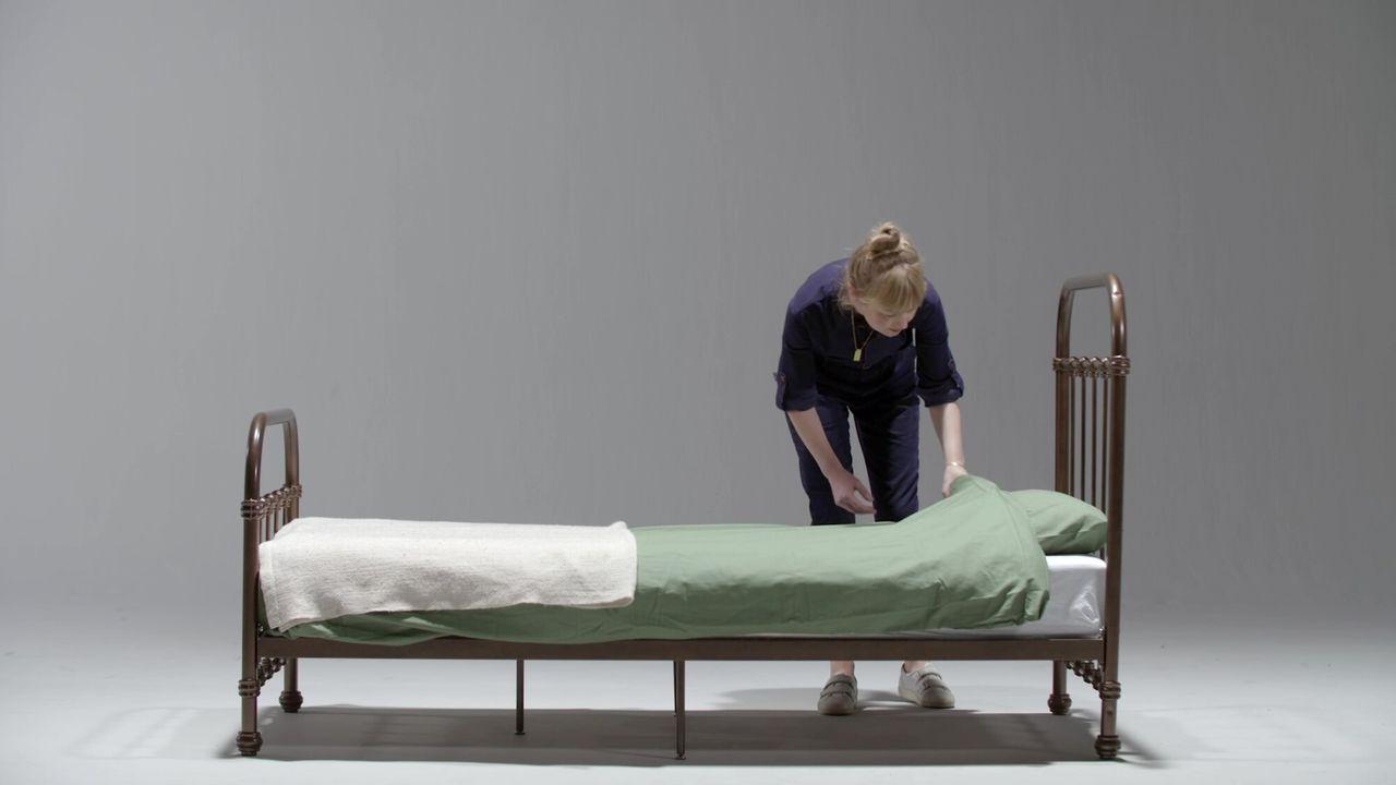 Voor de vorm Bed
