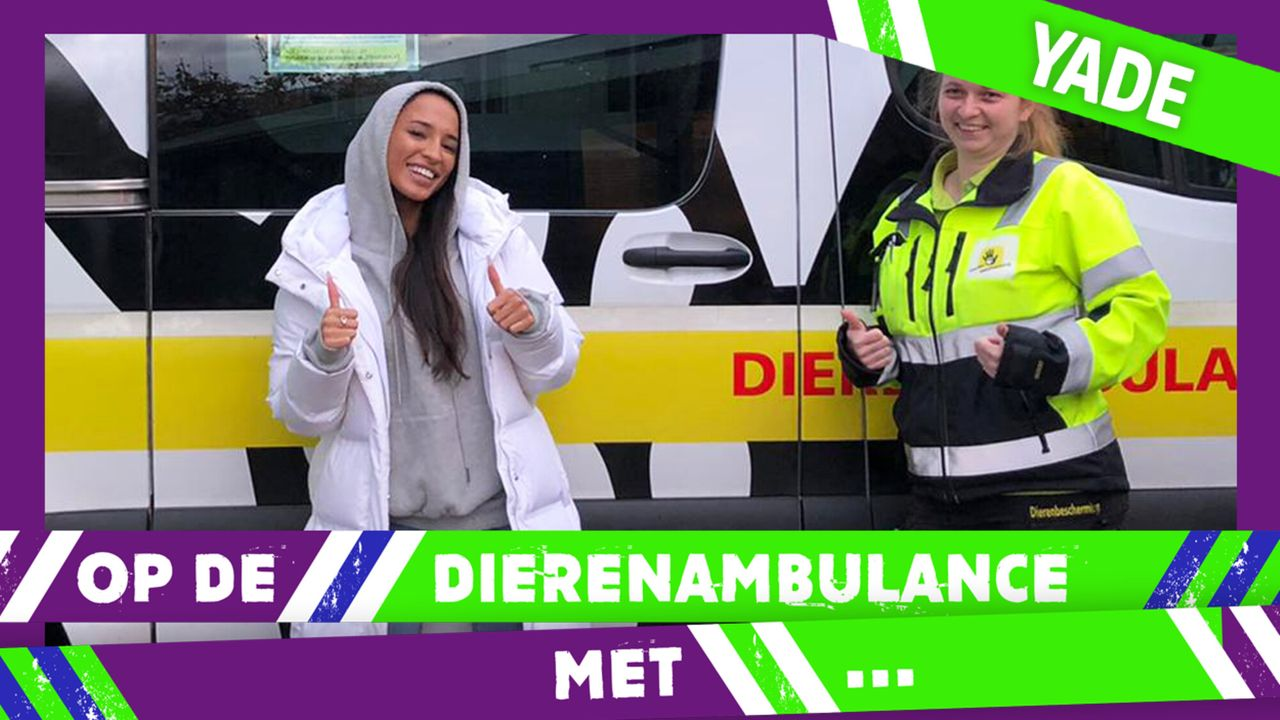 Op De Dierenambulance Met - Yade Lauren