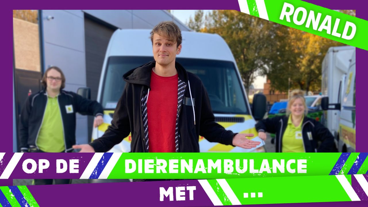 Op De Dierenambulance Met - Ronald Vledder