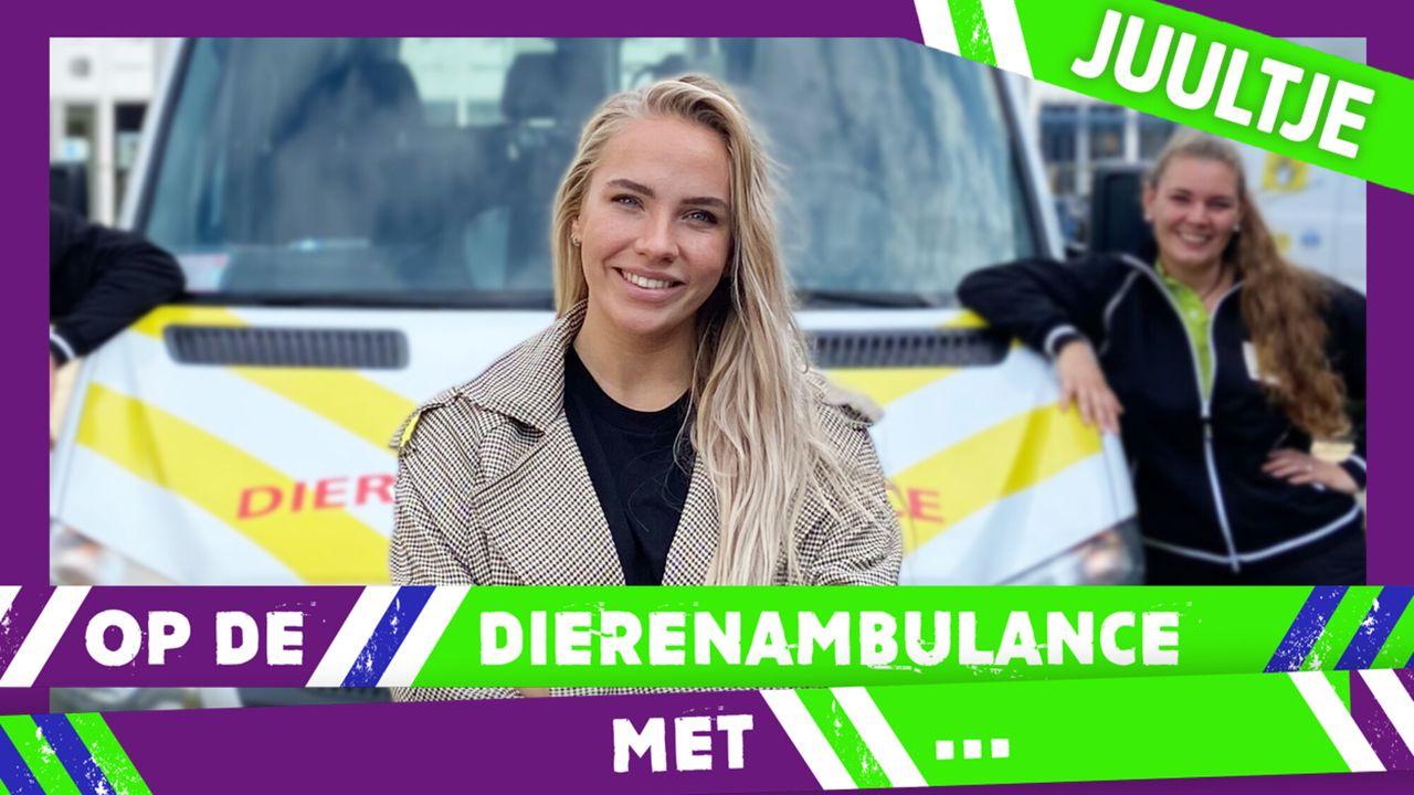 Op De Dierenambulance Met - Juultje Tieleman