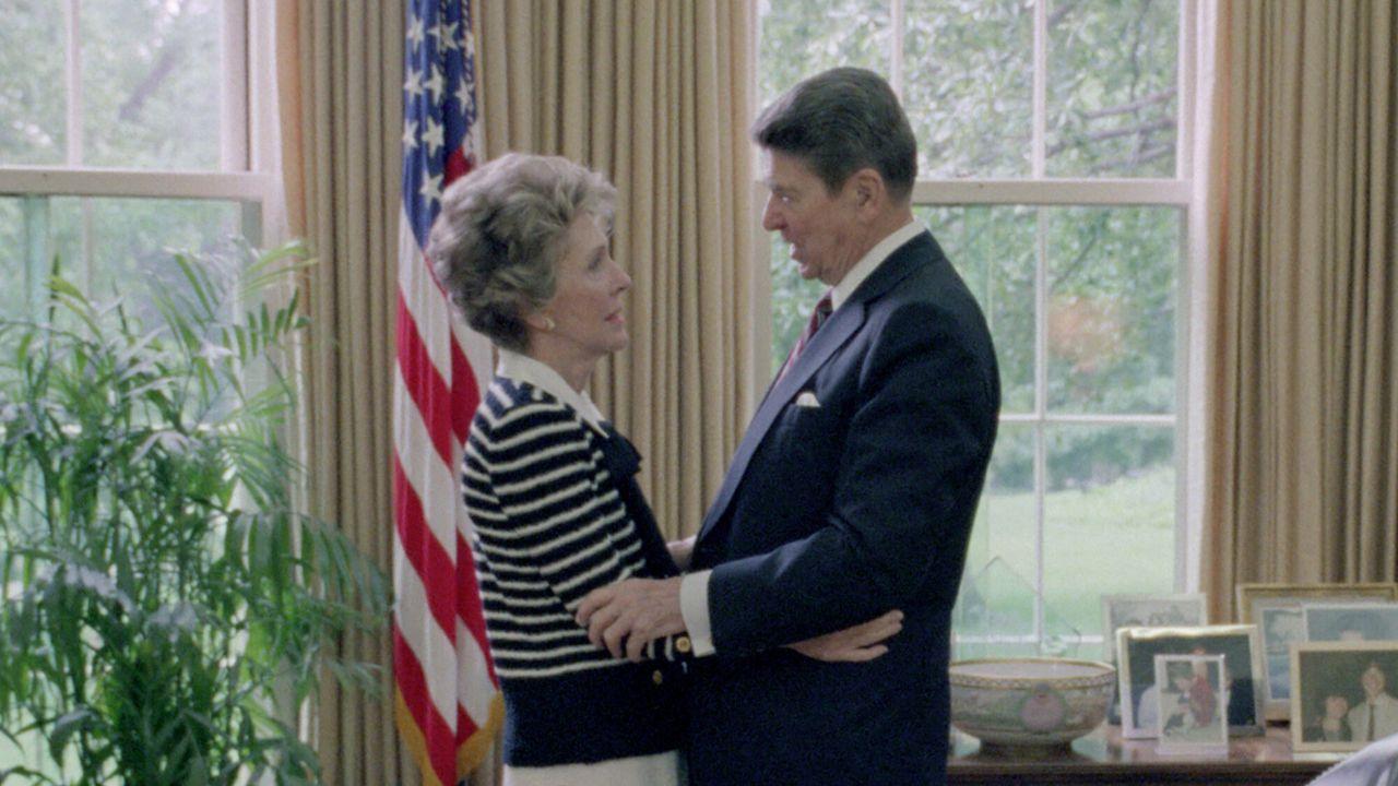 The Reagans In de sterren