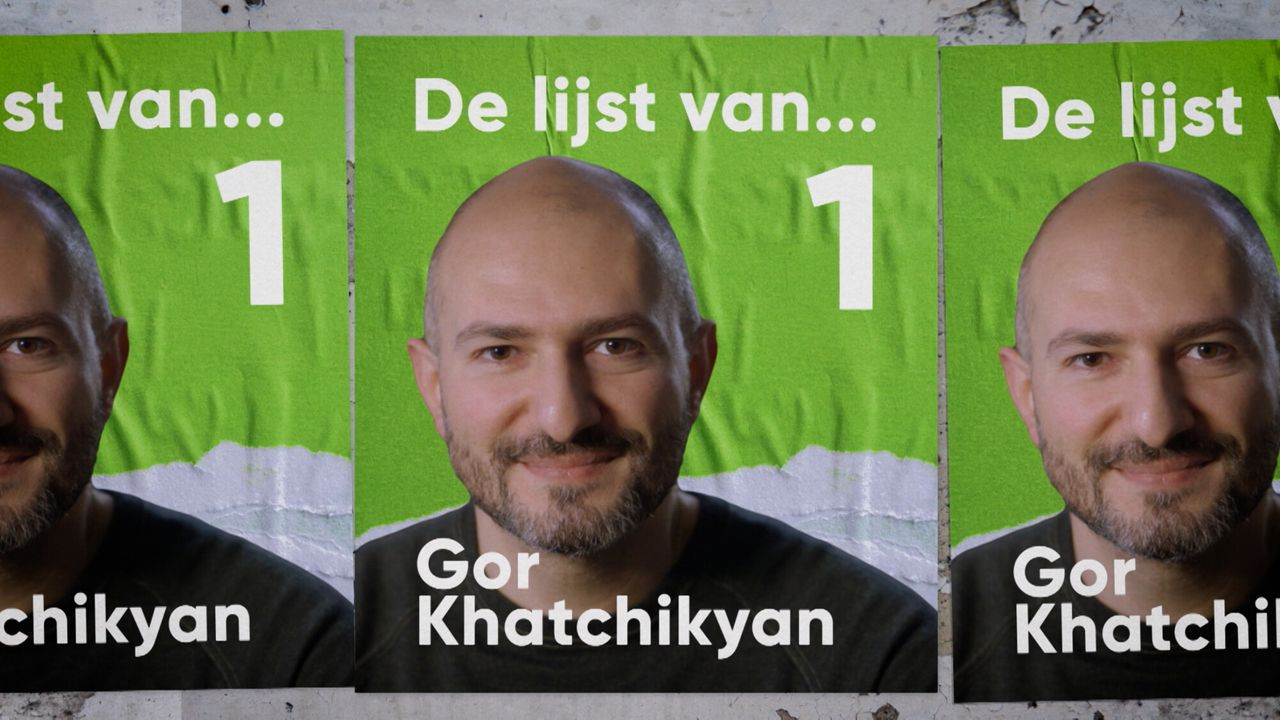 De lijst van Gor Khatchikyan