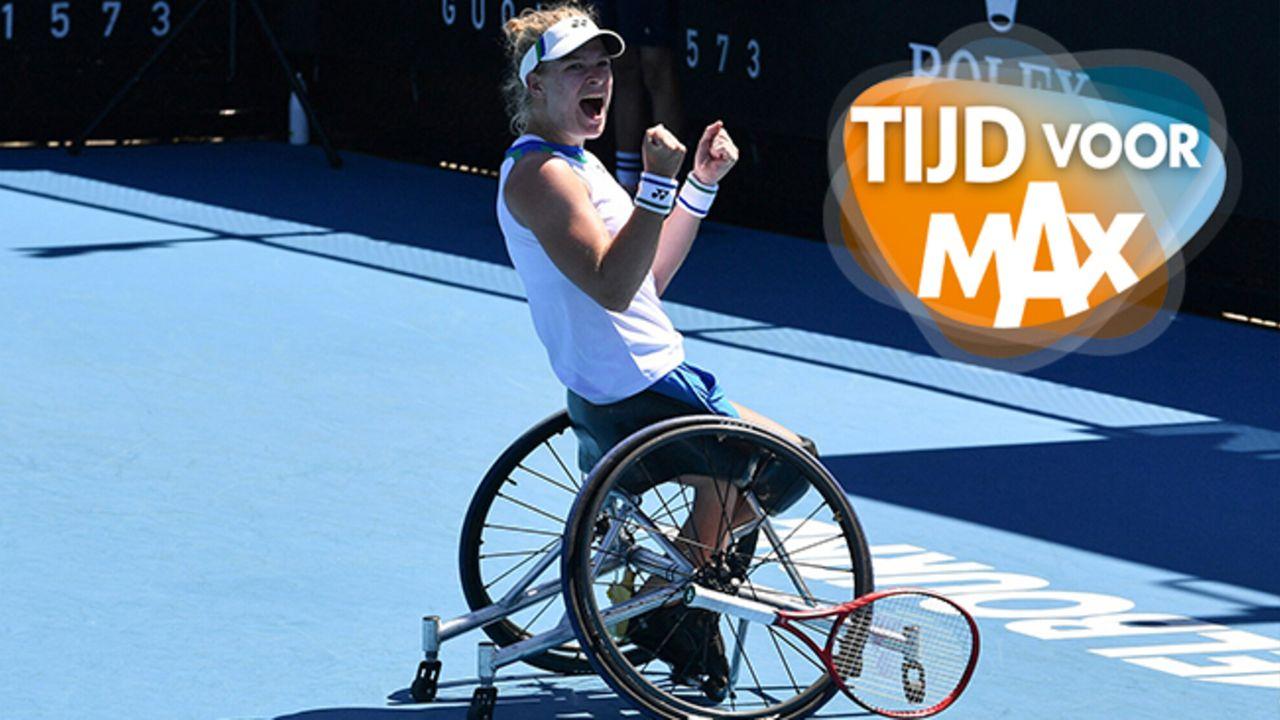 Tijd voor MAX Rolstoeltennisster Diede de Groot wint Australian Open!