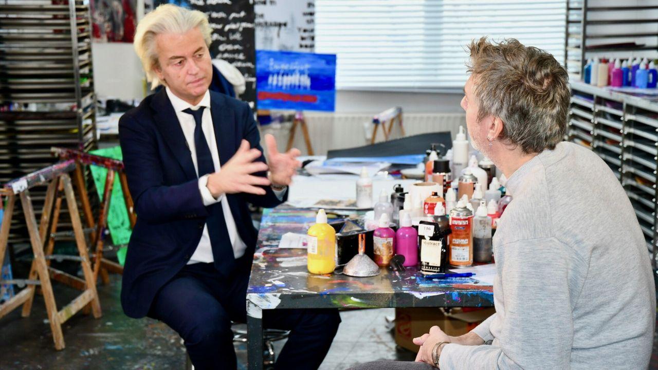 Ingelijst Geert Wilders