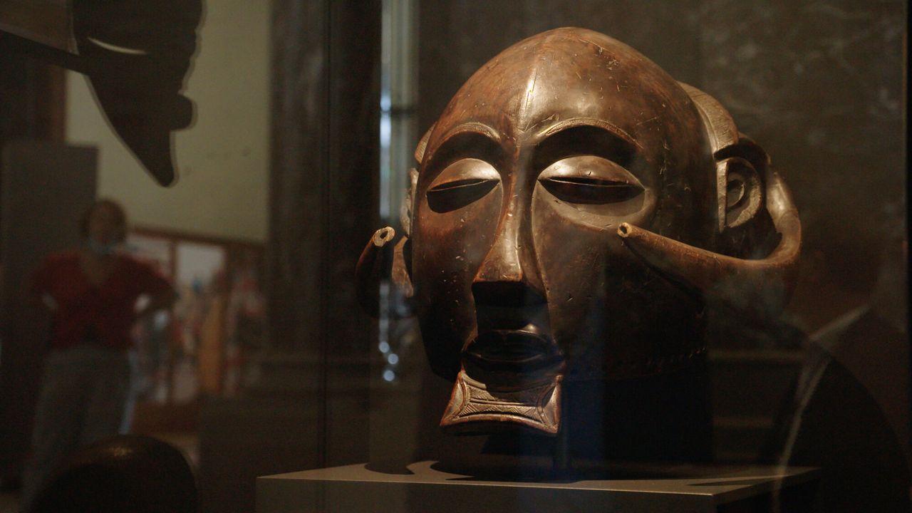Roofkunst - Het Luba-masker