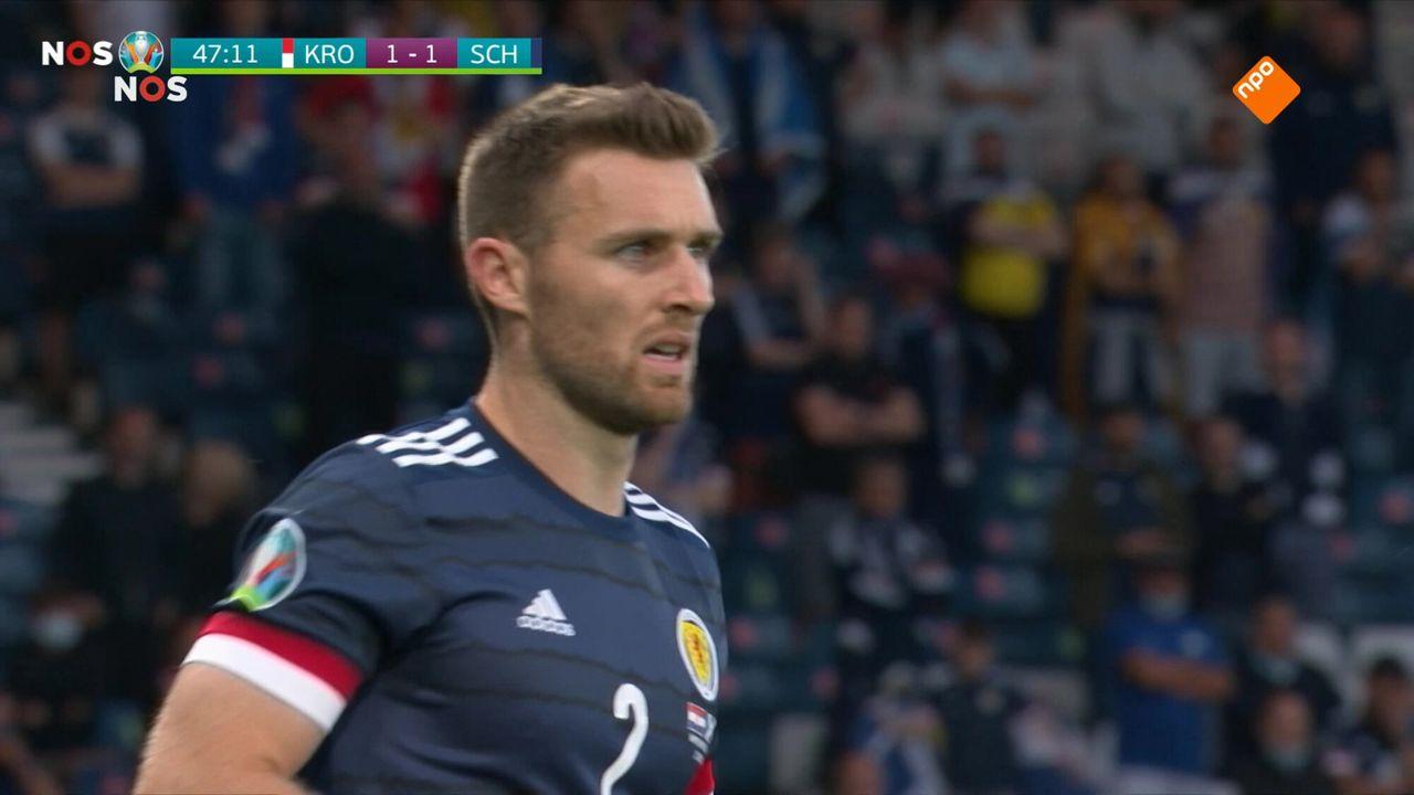 NOS EK Voetbal NOS EK Voetbal Kroatië - Schotland of Tsjechië - Engeland tweede helft