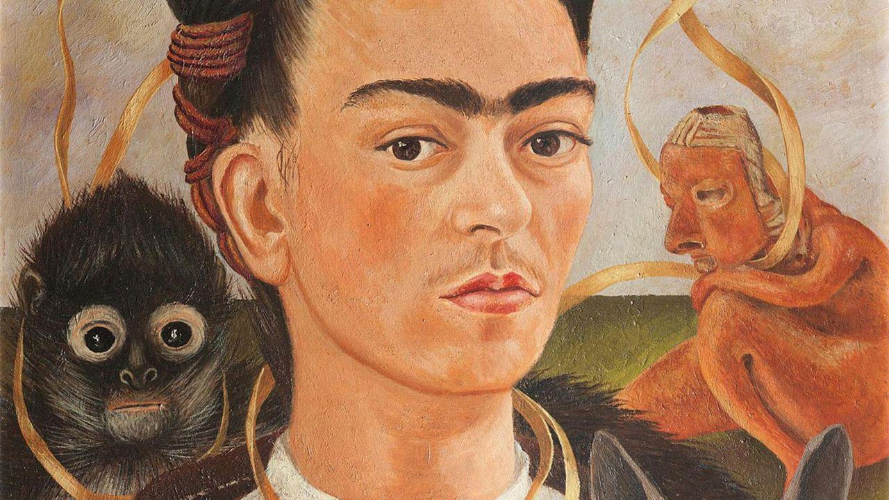 Close Up - Frida Kahlo