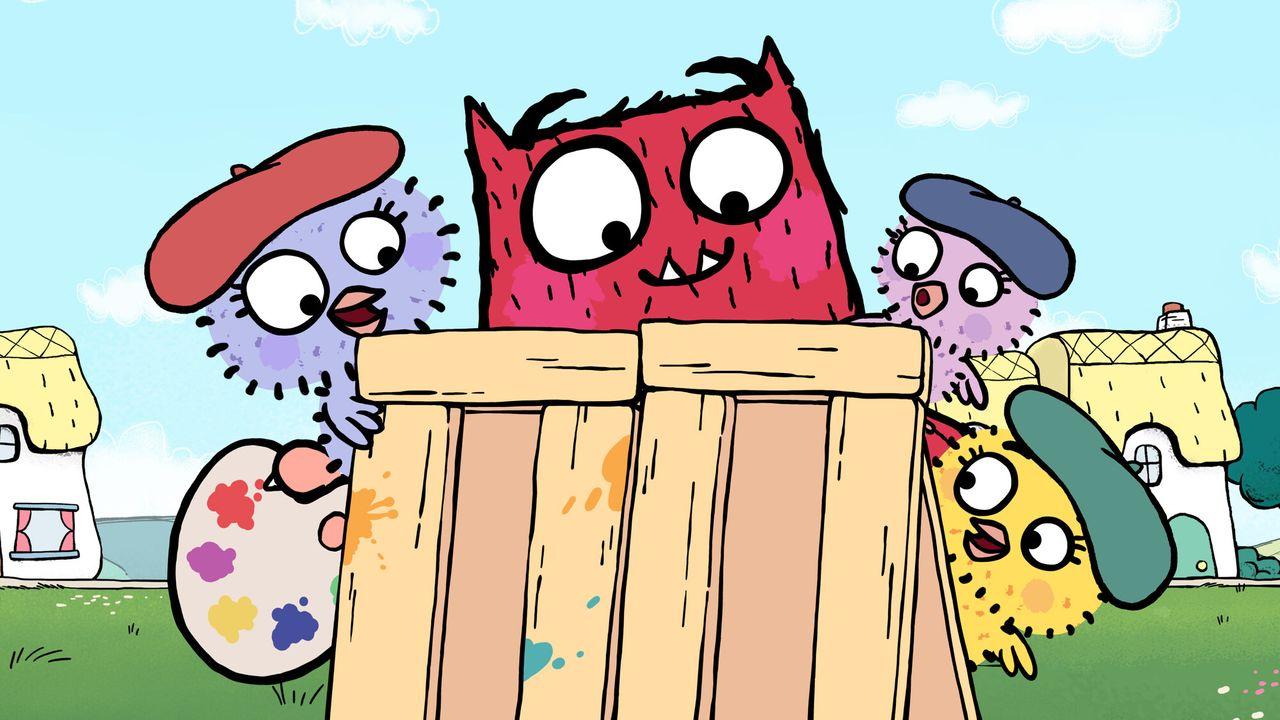 Lief Monster Schilderijtjesdag