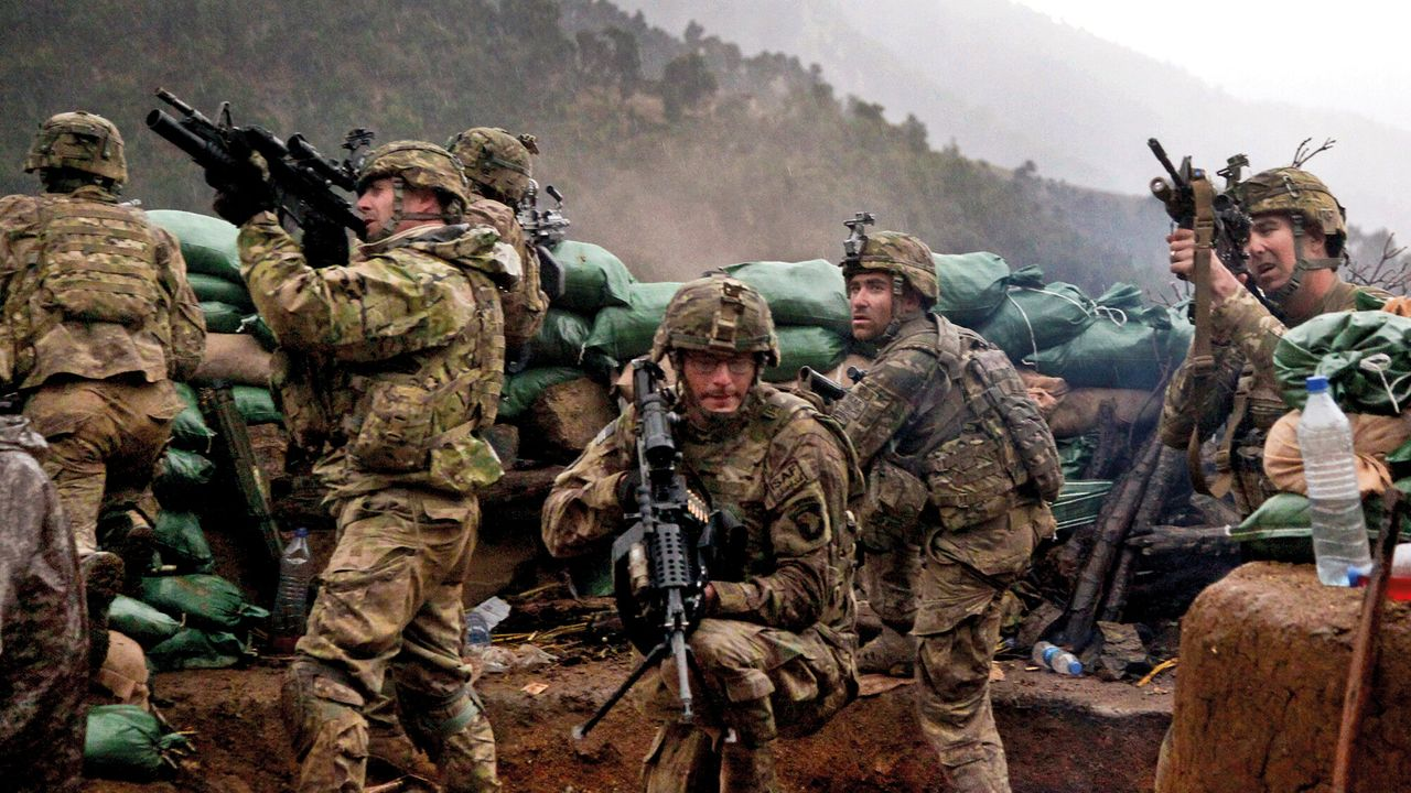 Afghanistan: The Wounded Land - De Val