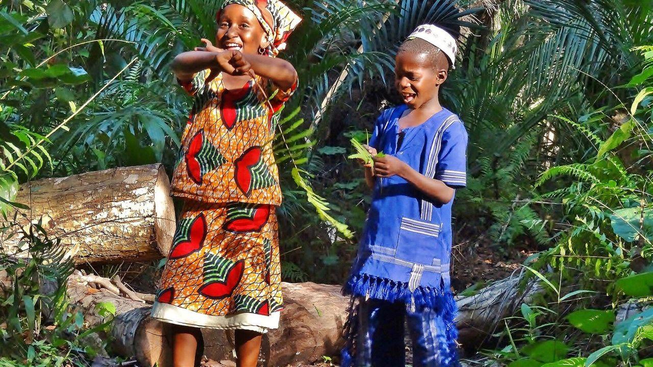 De Avonturen Van Awena En Abduli - Apen In De Jungle