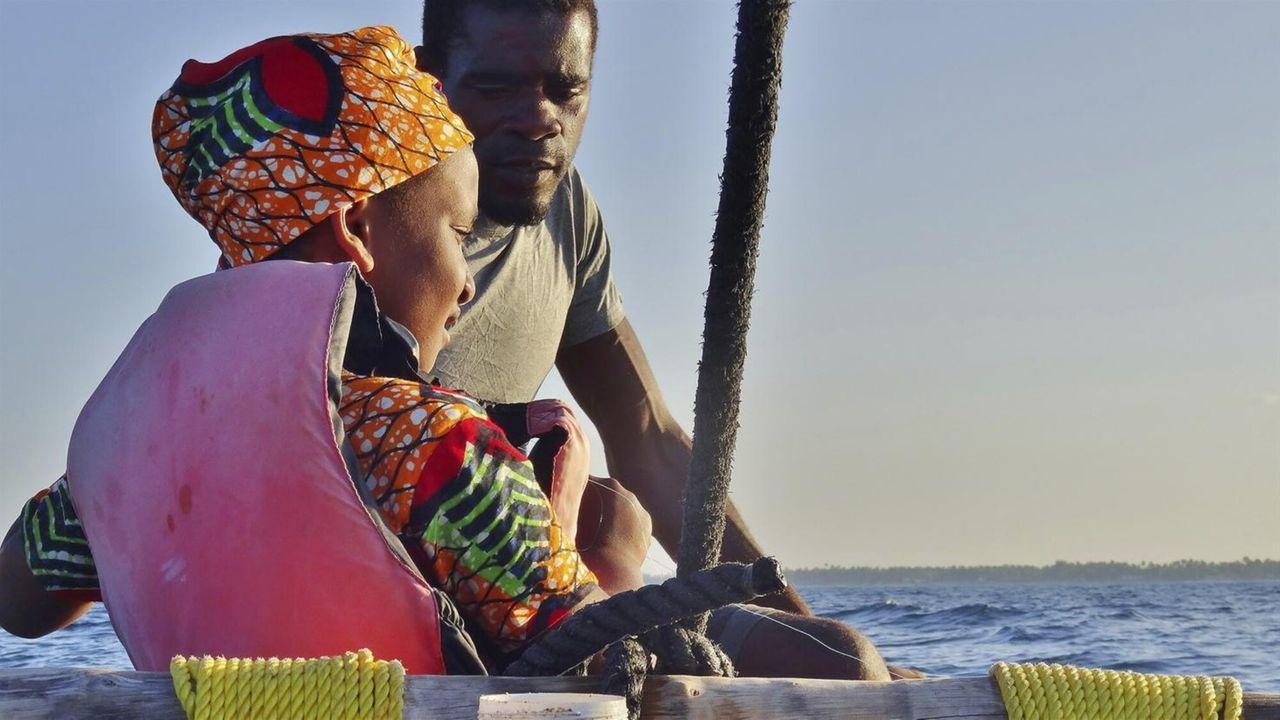 De avonturen van Awena en Abduli Vissen op zee