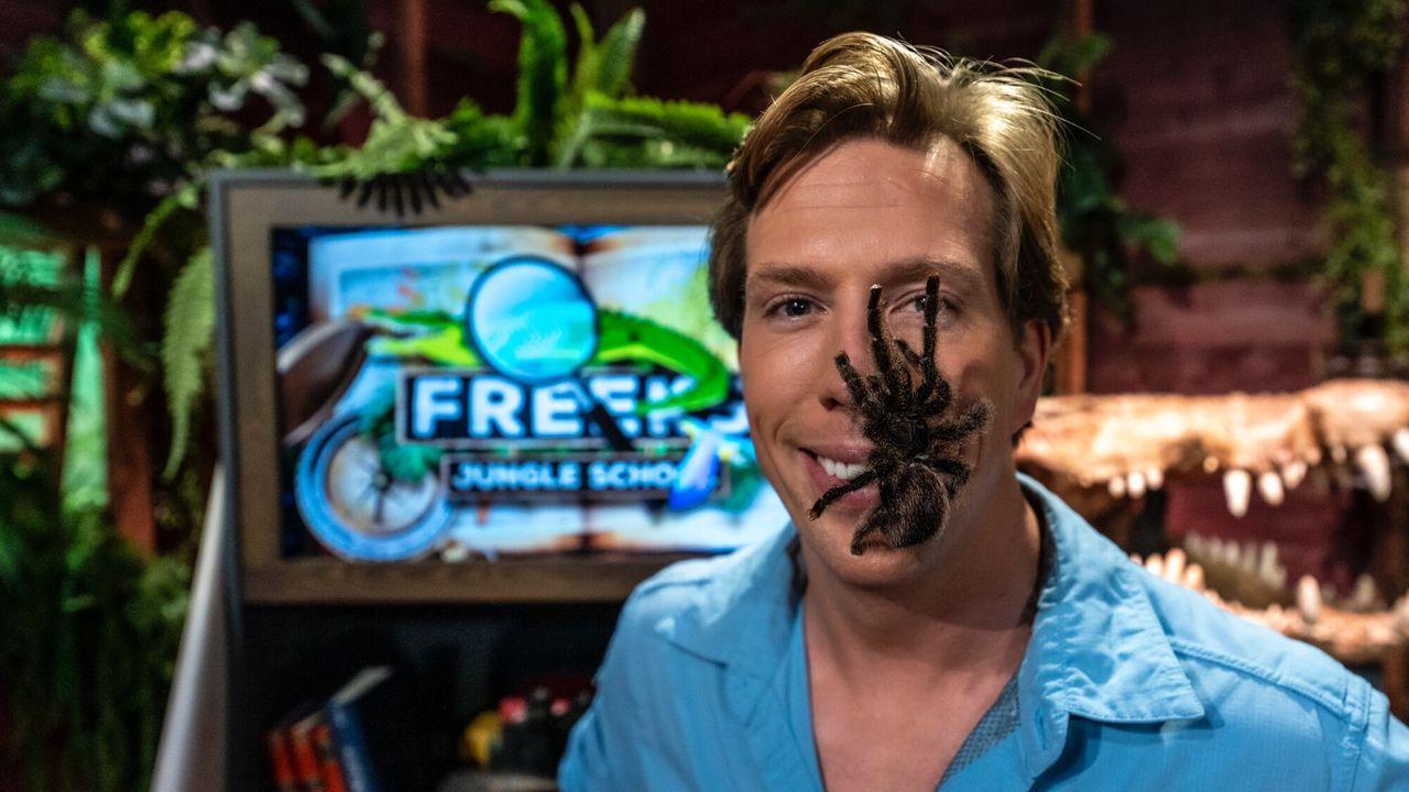 Freeks Jungle School Vogelspinnen: Achtpotige knuffeldieren