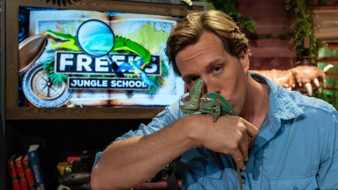 Freeks Jungle School Kameleons: Wandelende regenbogen