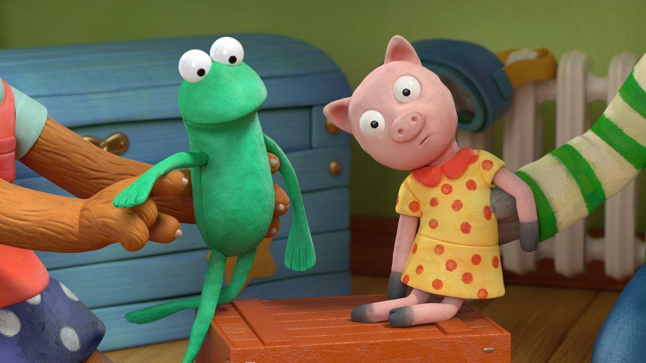 Pip en Posy Oeps Kikker