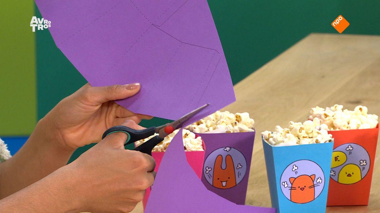 Zin In Zappelin - Boerderij: Recept: Popcorn In Een Bakje