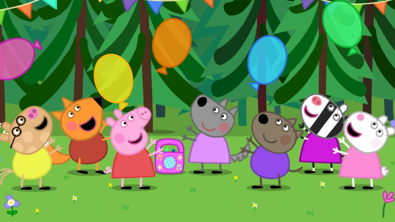 Peppa Pig - De Verjaardag Van Wendy Wolf
