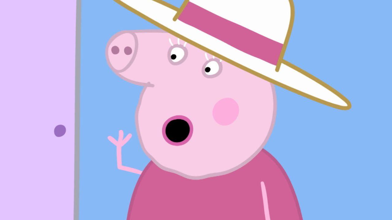 Peppa Pig De wollen muts van George
