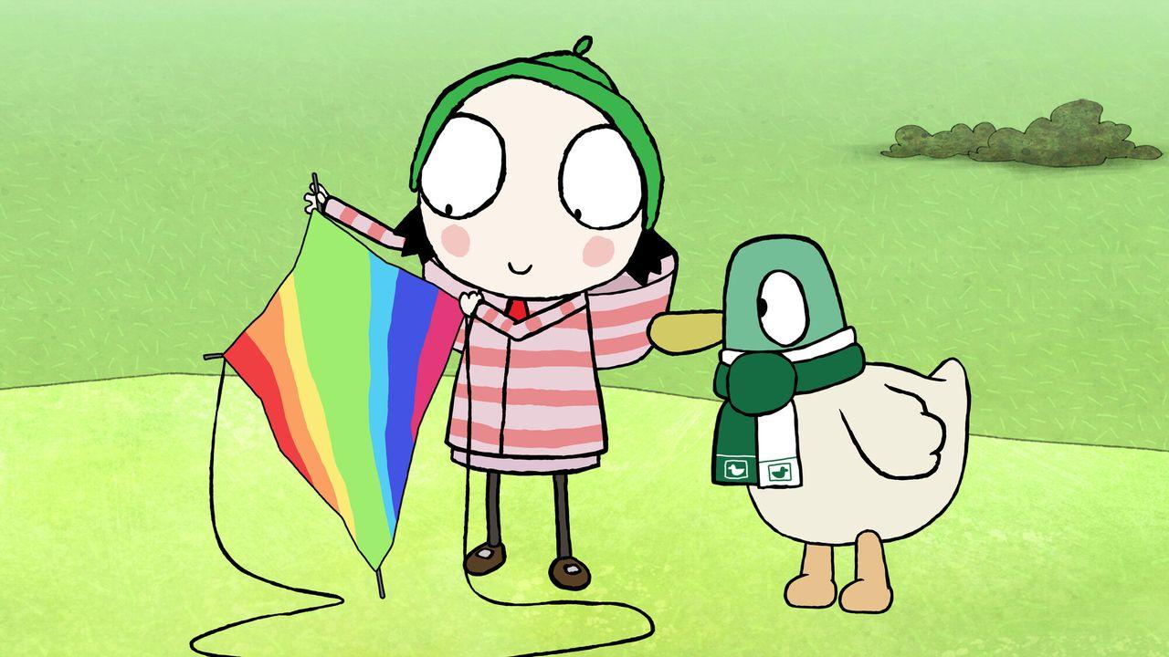 Sarah En Eend - Regenboog