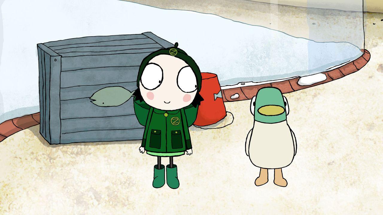 Sarah En Eend - Vliegeren