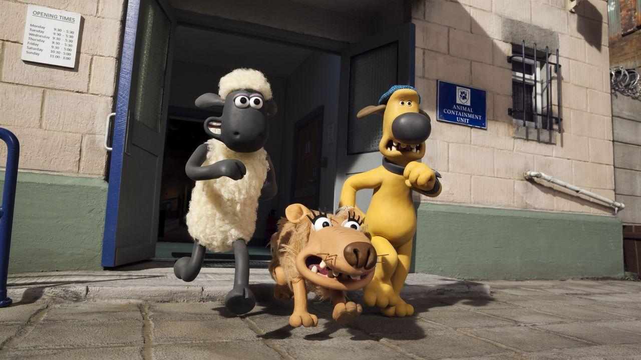 Shauns Boerderij Bloopers - Shaun Het Schaap: De Ondeugende Lama's