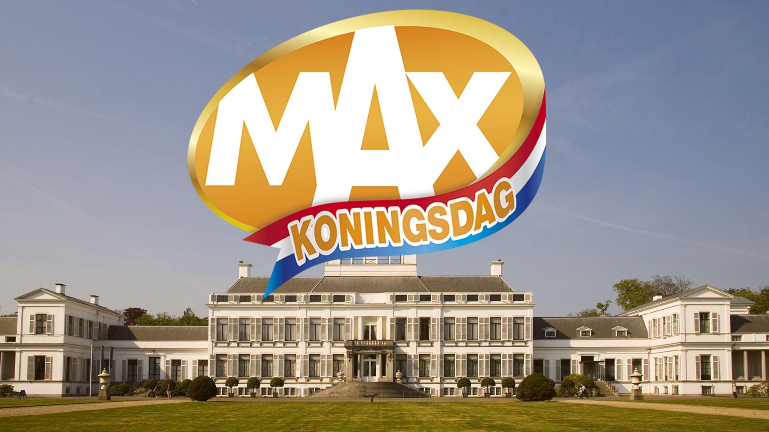 MAX Koningsdag vanaf Paleis Soestdijk