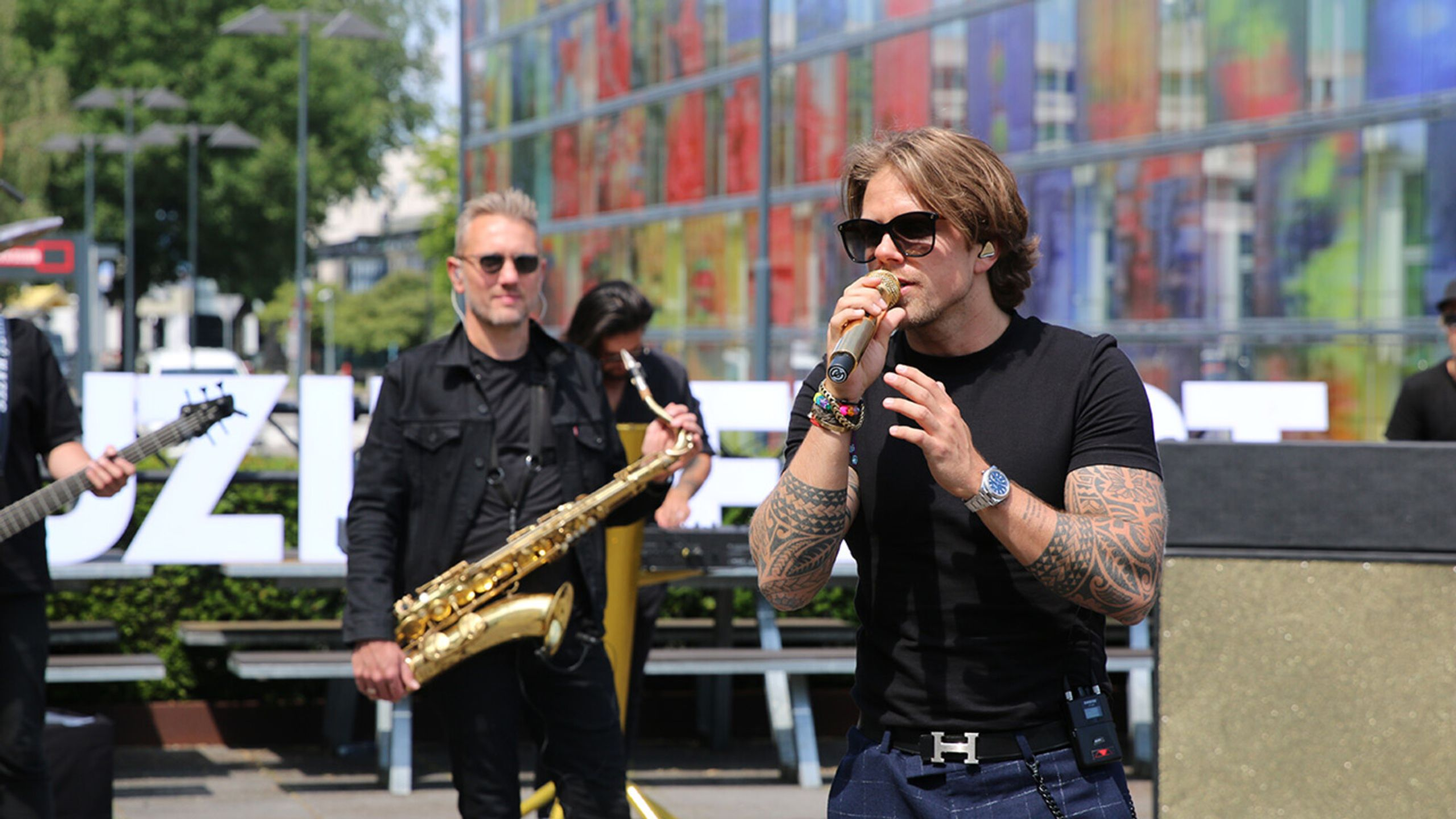 15 jaar Sterren Muziekfeest op het plein