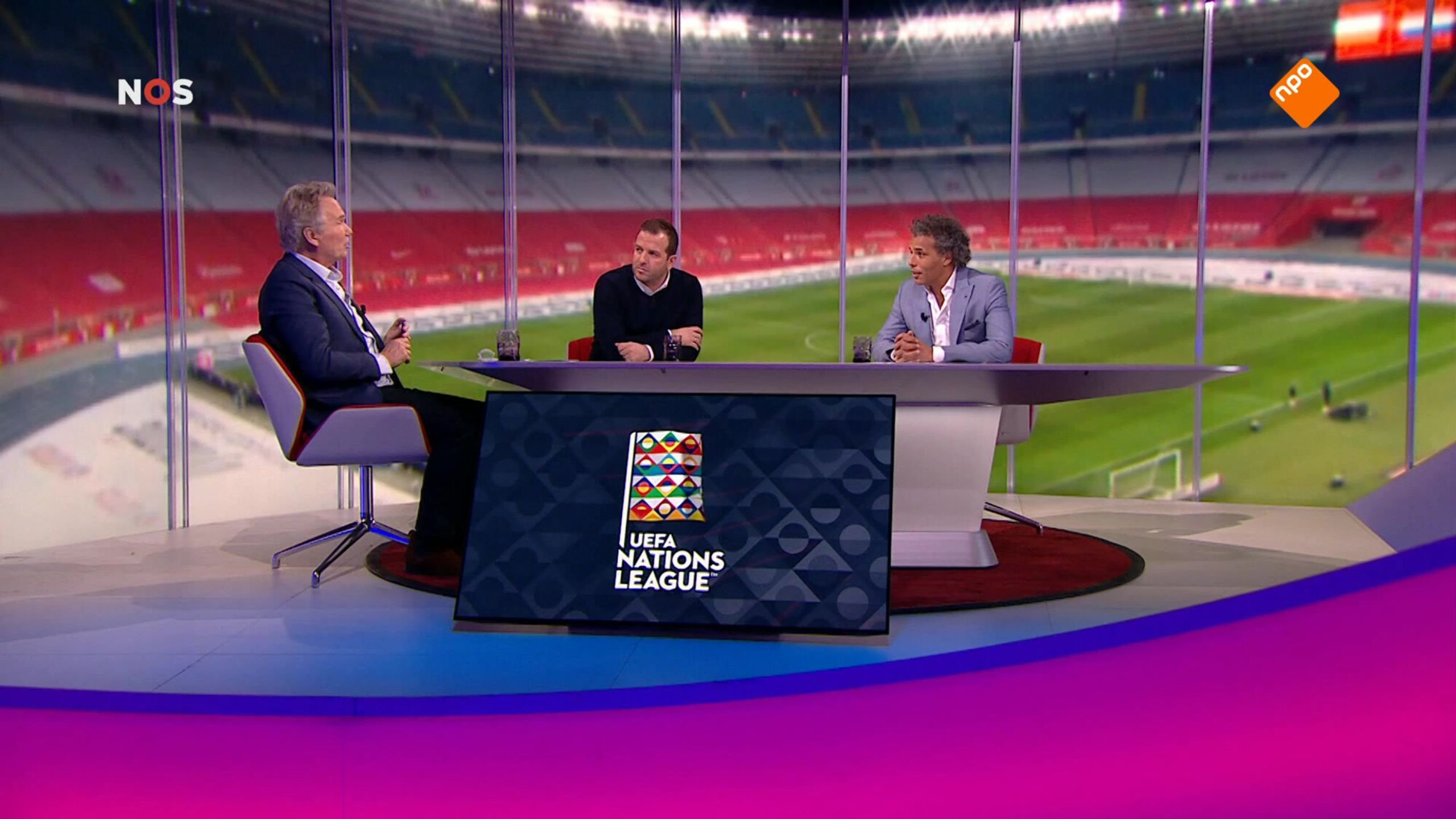 NOS Voetbal Nations League Opwarmer Polen