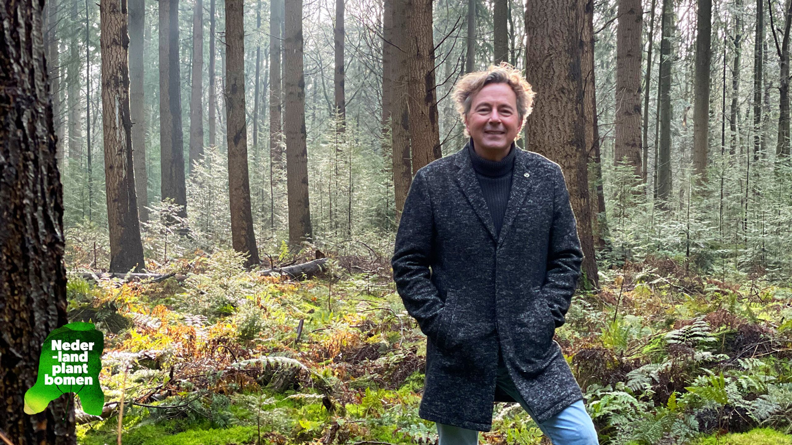 Nederland plant bomen