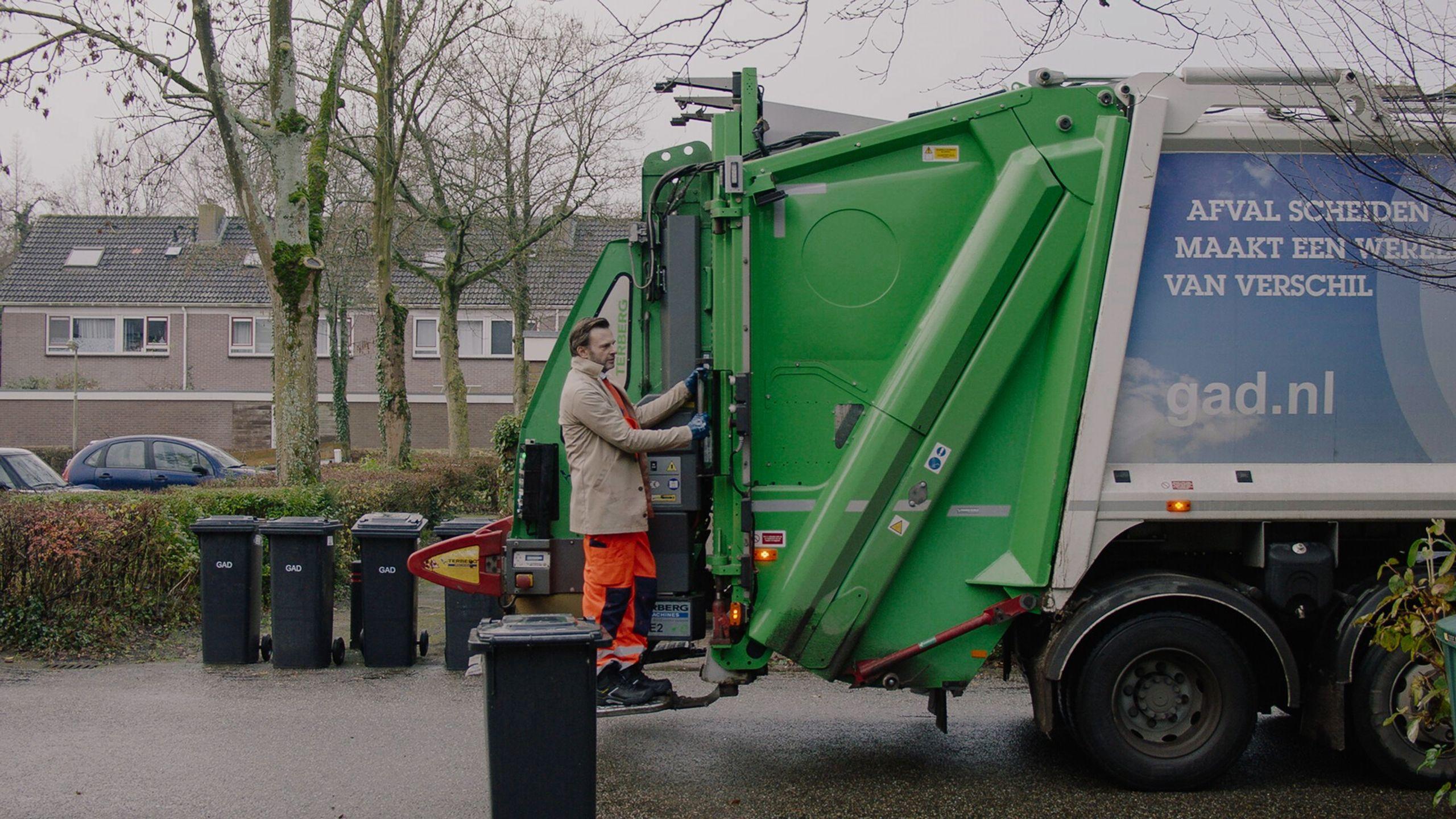 De vuilnisman