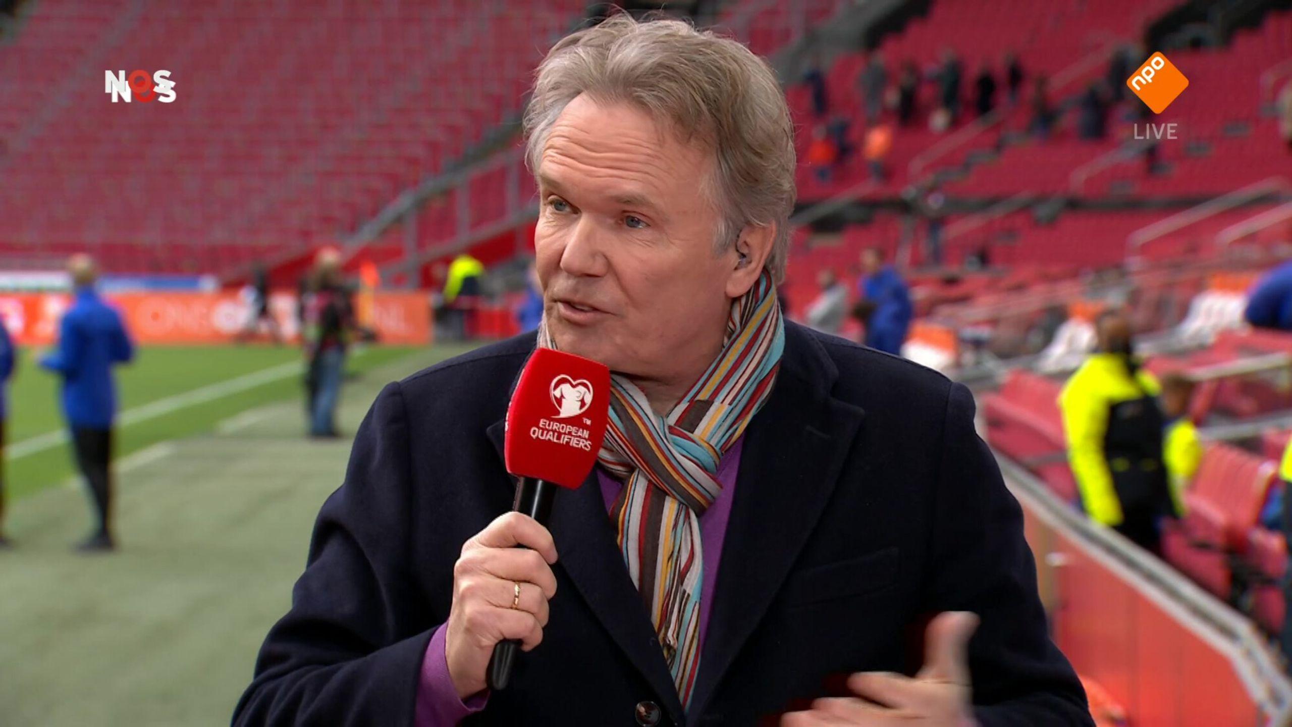 NOS WK-kwalificatie Voetbal Nederland