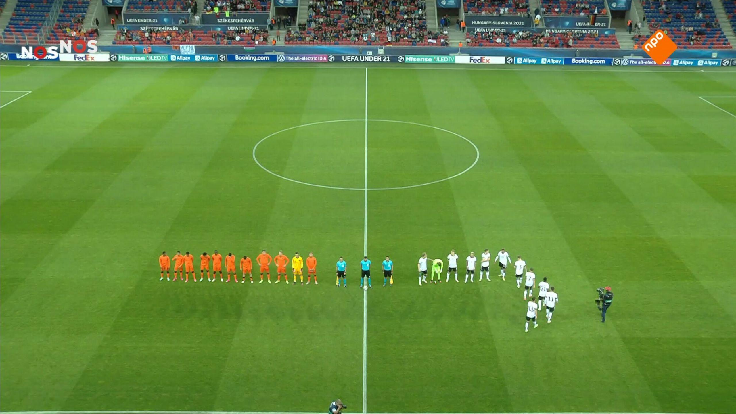 NOS EK Voetbal onder 21 Nederland