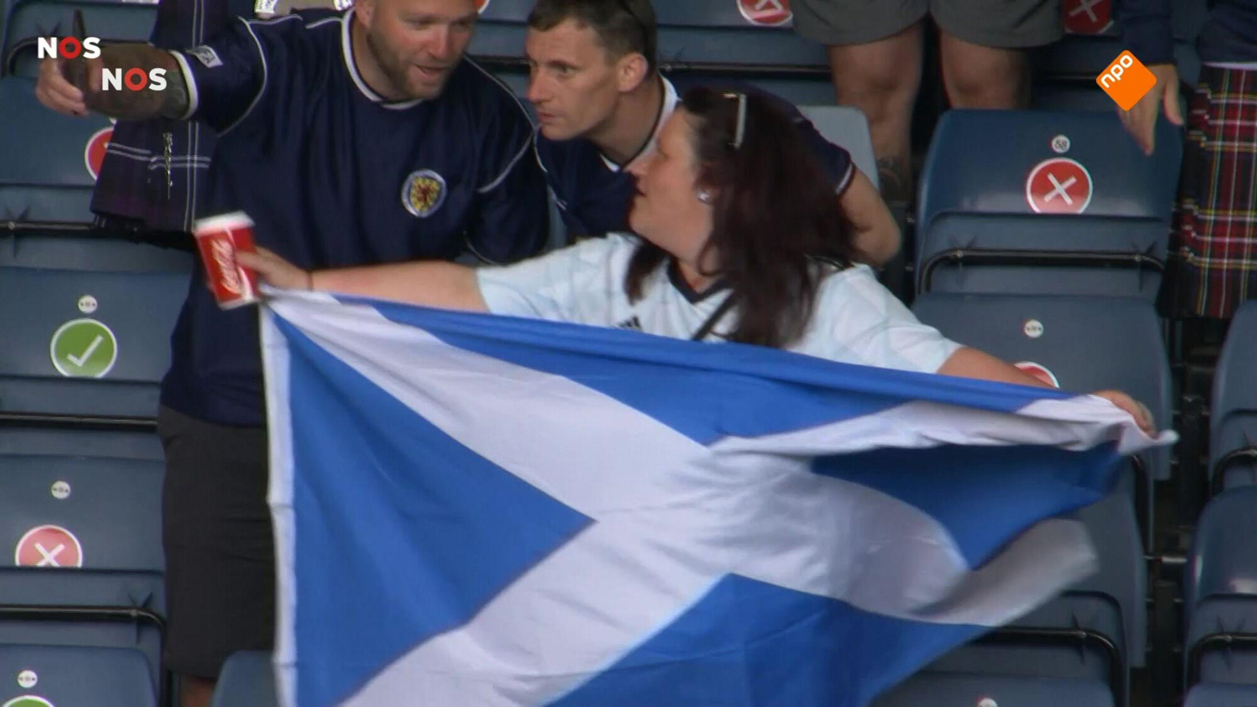 NOS EK Voetbal Schotland -Tsjechië eerste helft