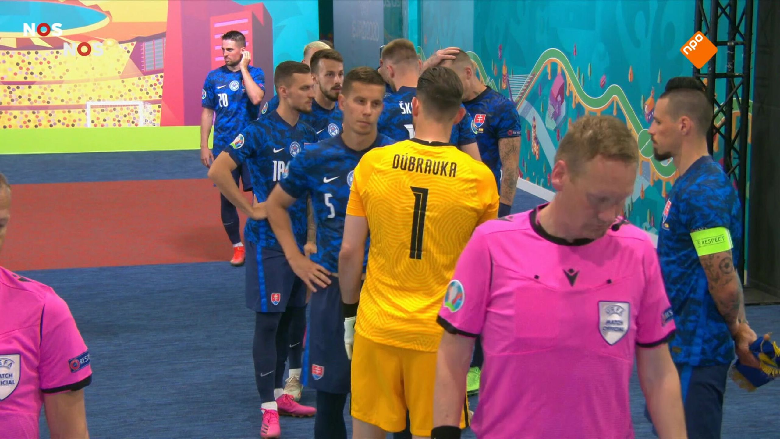 NOS EK Voetbal Slowakije