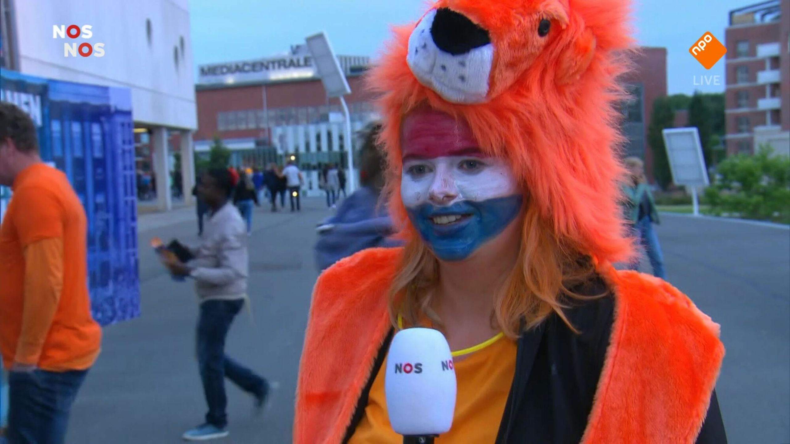 NOS WK-kwalificatie Voetbal (v) Nederland